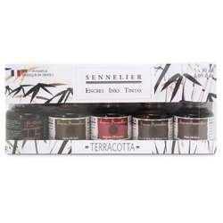 SENNELIER Schellacktusche 5er-Sets