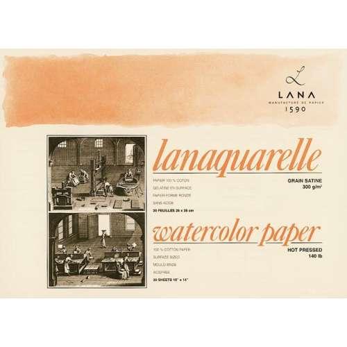 LANA Lanaquarelle Aquarellblock