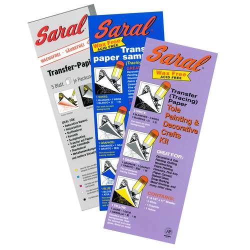SARAL® Transferpapier-Packungen wachslos