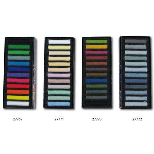 BLOCKX Pastellkreiden, 12er-Sets