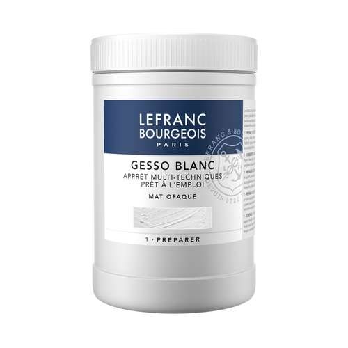 LEFRANC & BOURGEOIS GESSO Weiß, Matt opak