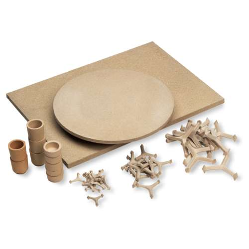 Keramik-Dreifüße