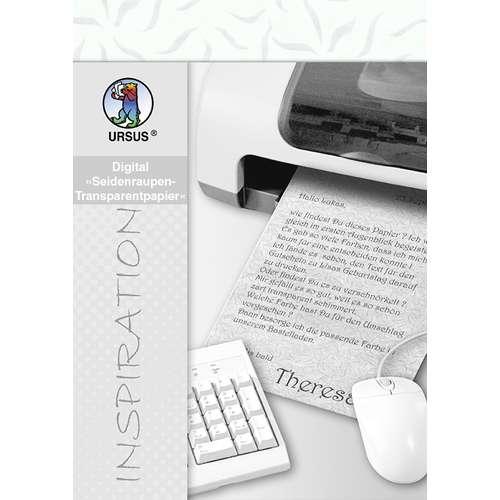URSUS® Digital Seidenraupen-Transparentpapier