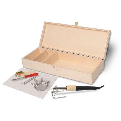 Werkbox Brenn-Peter 4 Brandmalerei-Set