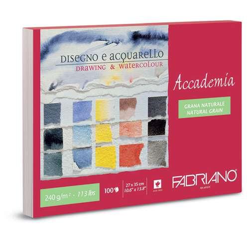 FABRIANO® Accademia Jumbo Aquarell- und Zeichenblock