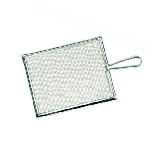 Spritzsieb aus Aluminium, rechteckig
