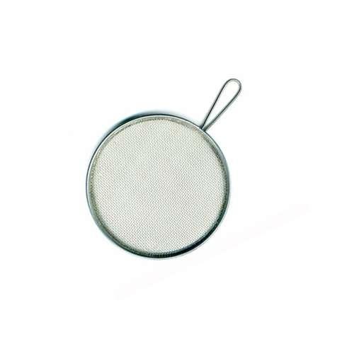 Spritzsieb aus Aluminium, rund