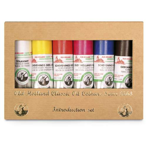 OLD HOLLAND Ölfarben-Set