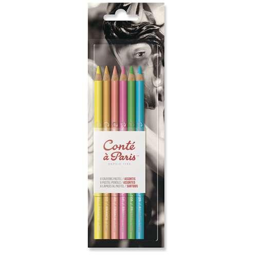 CONTÉ À PARIS™ Pastellstift Set, helle Farben