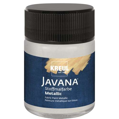 KREUL Javana Stoffmalfarbe mit Metallic-Effekt