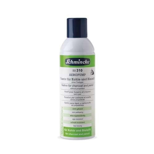 SCHMINCKE Aeropump Fixativ Alkohol-Fixativ für Kreide, Kohle und Bleistift