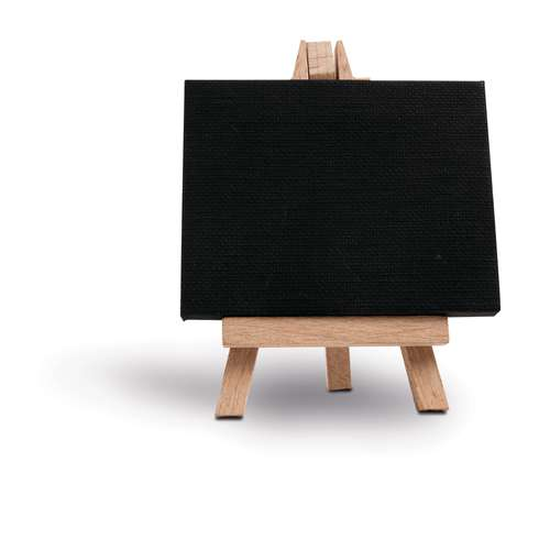 GERSTAECKER Mini-Staffelei mit Keilrahmen, schwarz