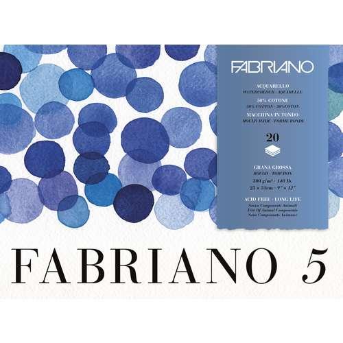 FABRIANO® Aquarellpapierblock 5