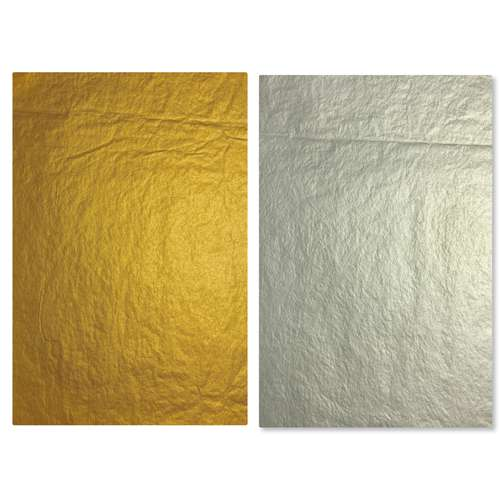 CLAIREFONTAINE Metallic-Seidenpapier