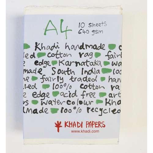 KHADI Handgeschöpftes Künstler-Büttenpapier