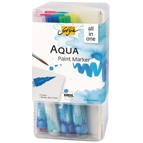 SOLO GOYA Aqua Paint Marker Powerpack All-in-one