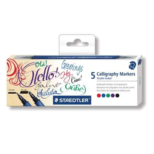 STAEDTLER® Calligraph duo 5er-Set