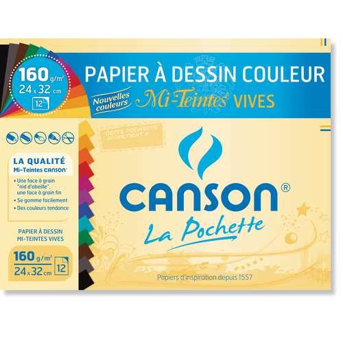 CANSON® Papier Mi-Teintes®